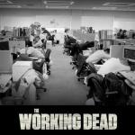 the walking dead working dead at office